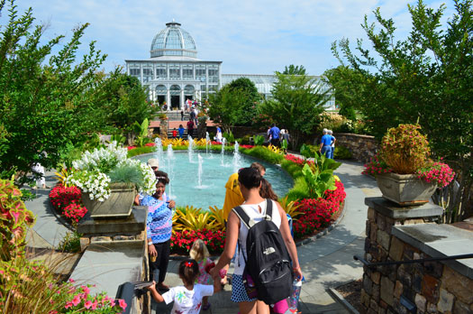 Free admission at Lewis Ginter Botanical Garden