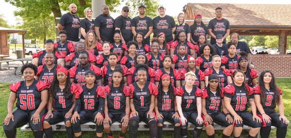 Women's football team to play home games at Hermitage HS